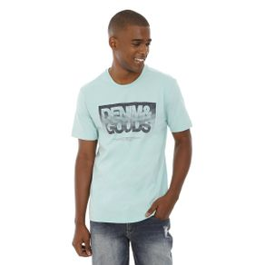 Camiseta-Gola-Careca-Estampada-Azul-