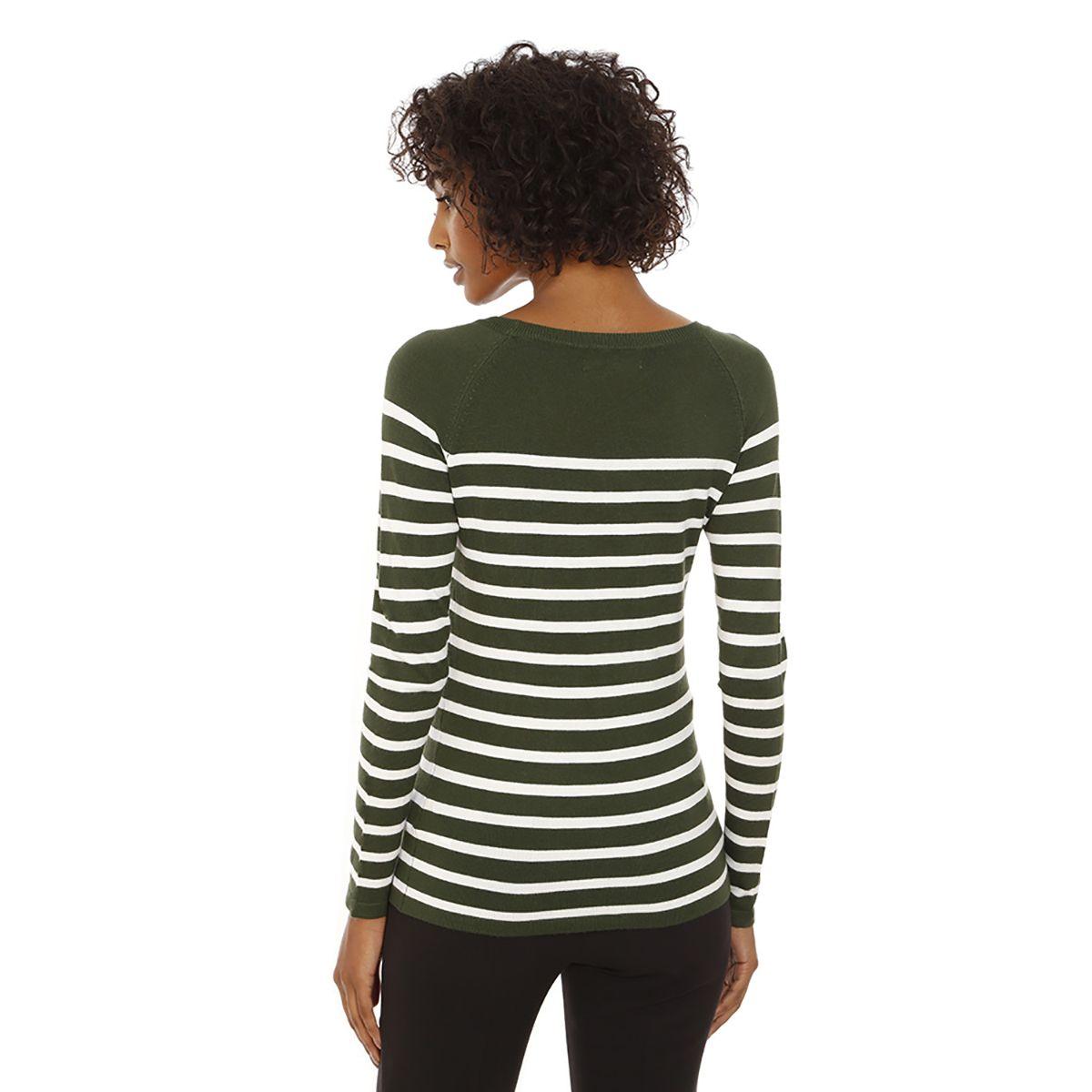 Blusa-Listrada-Tricot-Verde
