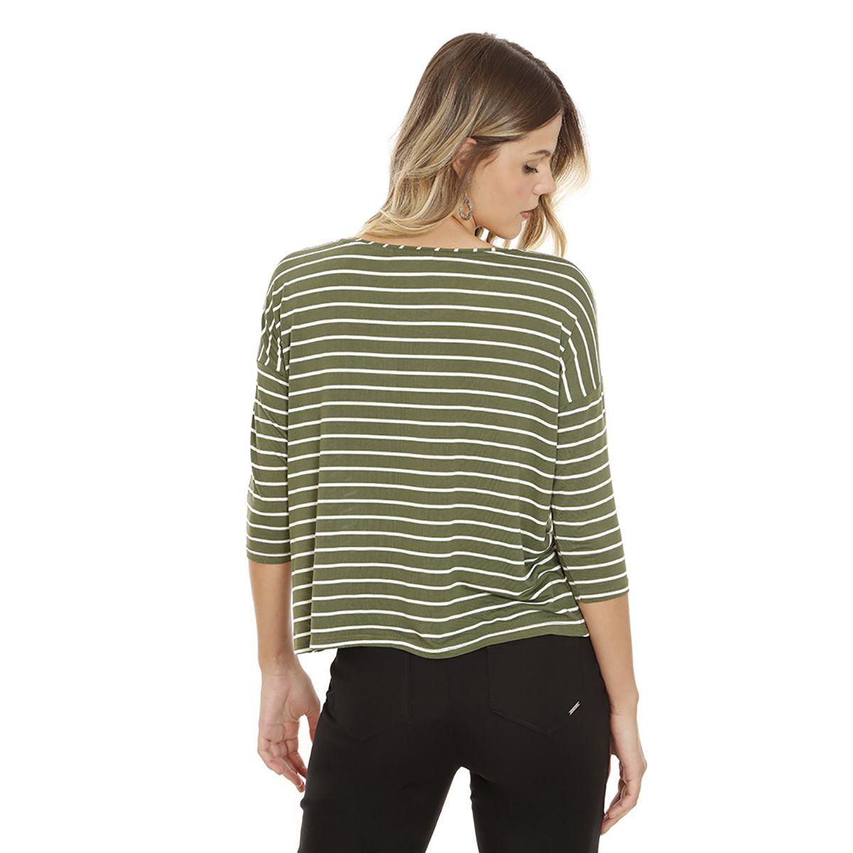 Blusa-Listrada-Malha-Verde