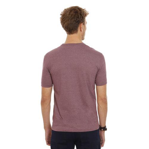 Camiseta-Gola-Careca-Estampada-Bordeaux