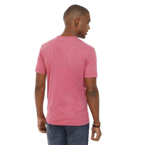 Camiseta-Gola-Careca-Estampada-Rosa-