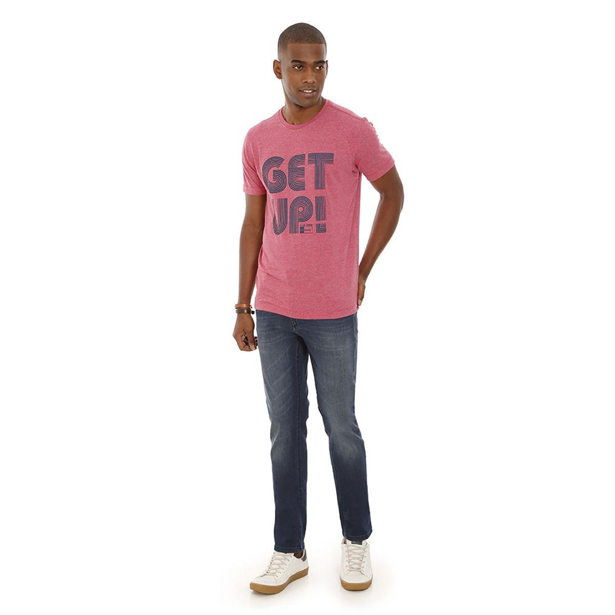 Camiseta-Gola-Careca-Estampada-Rosa-