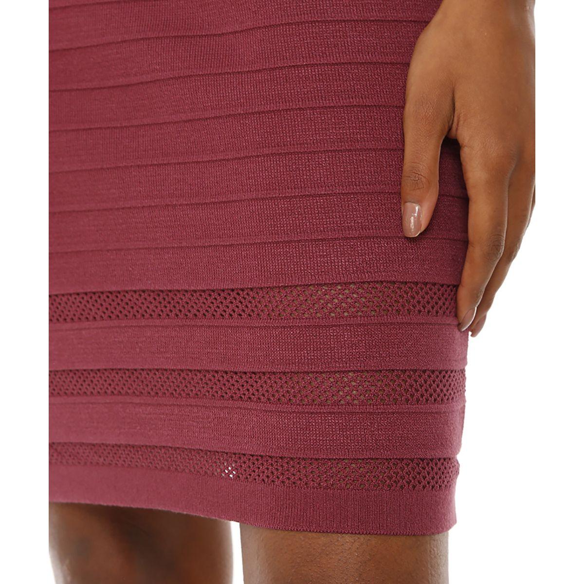 Vestido-Tricot-Vinho