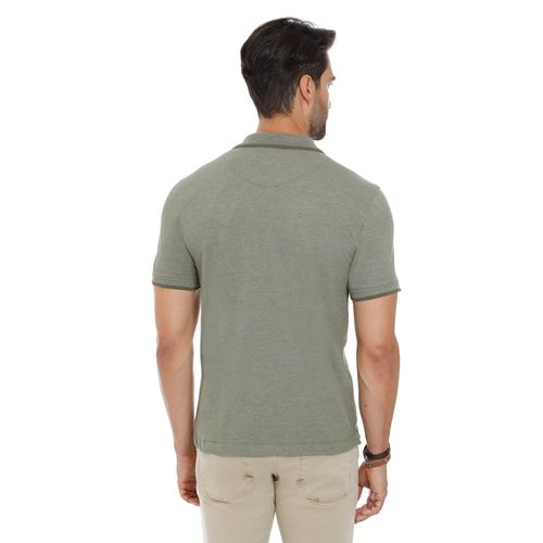 Polo-Lisa-De-Ziper-Gola-1-Listra-No-Tom-Khaki---P
