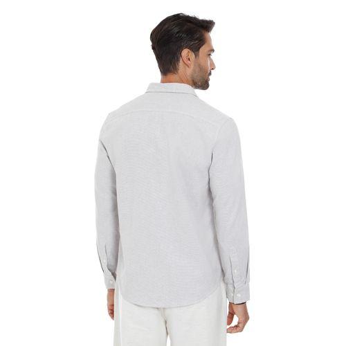 Camisa-Fio-Tinto-Micro-Maquinetado-Areia---G