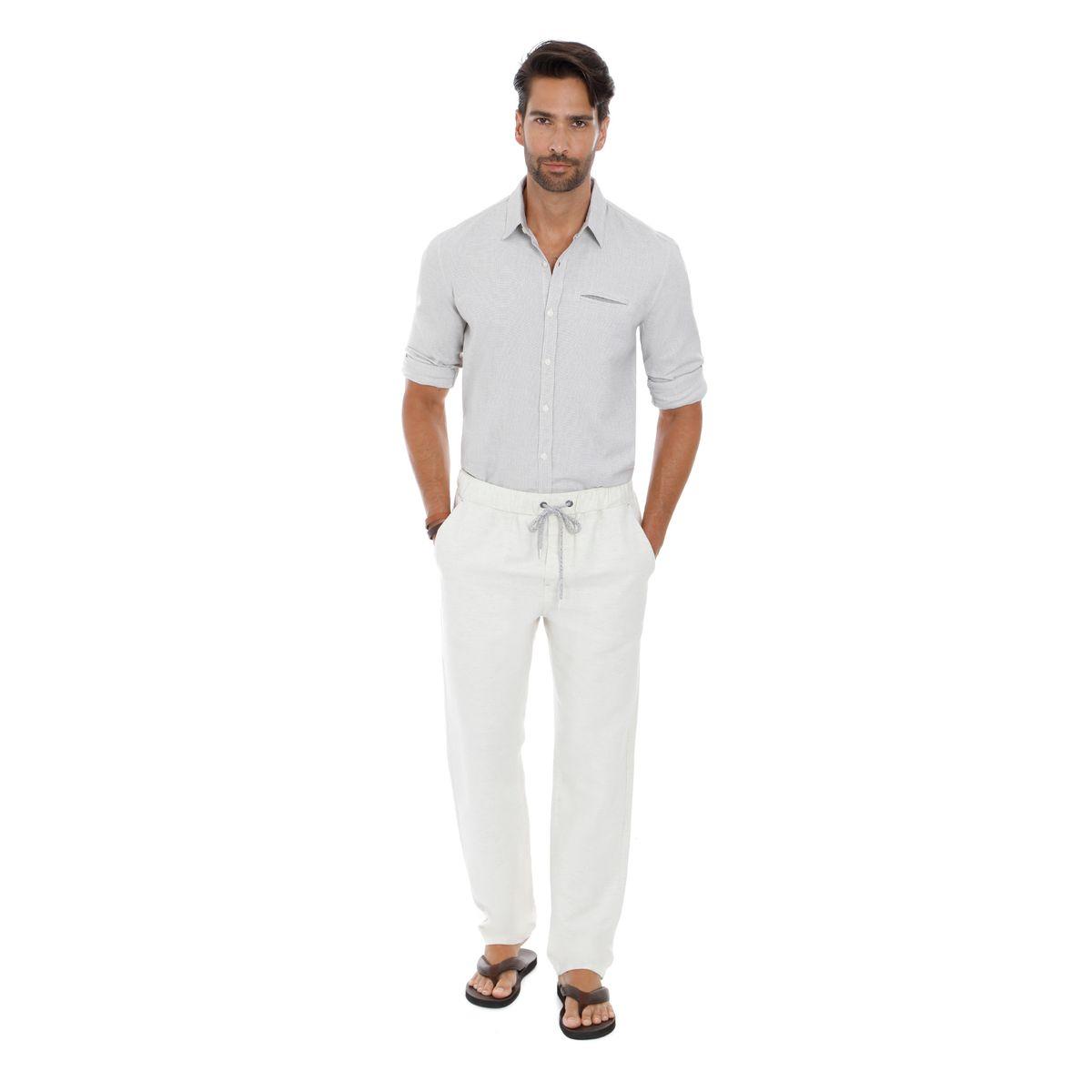 Camisa-Fio-Tinto-Micro-Maquinetado-Areia---P