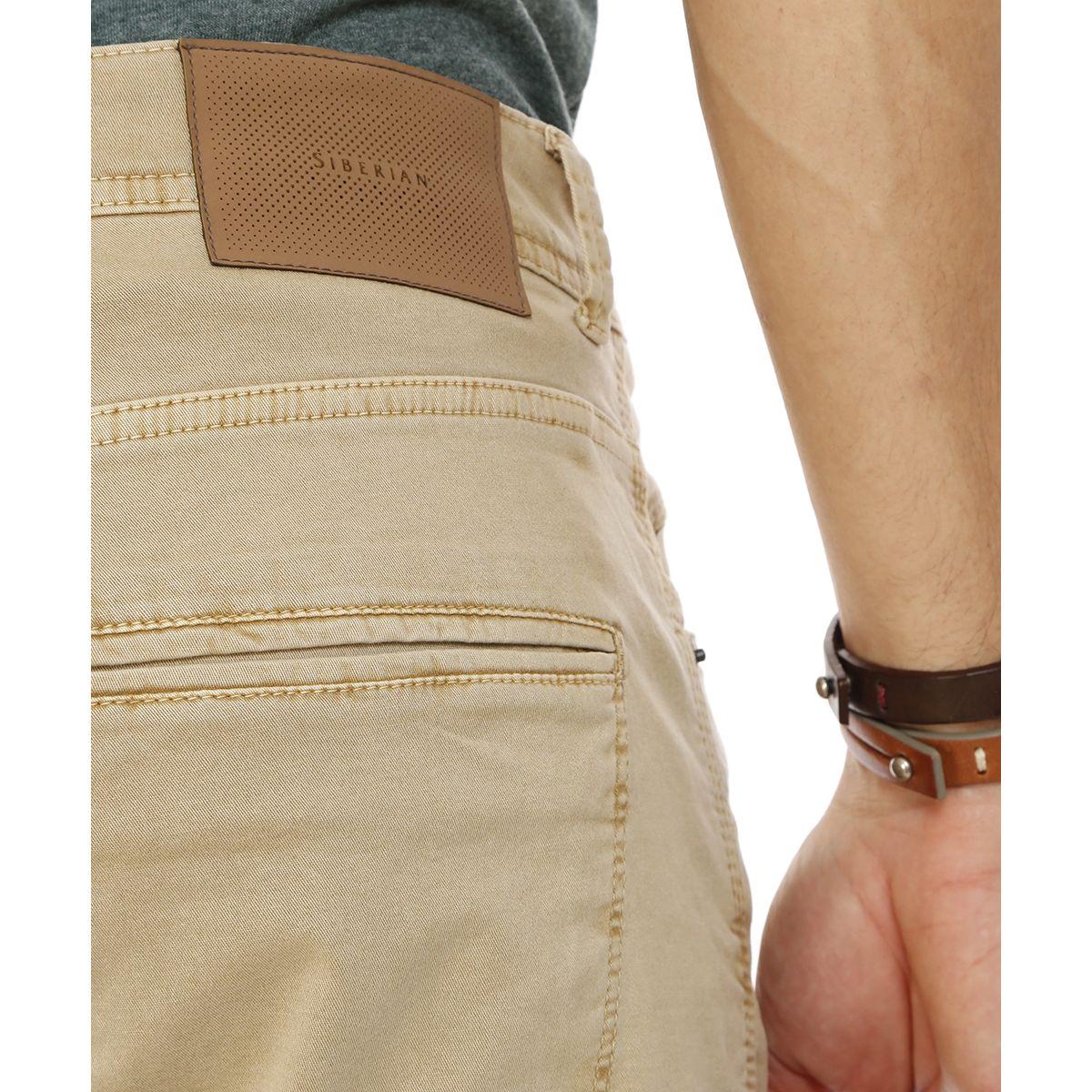 Calca-5-Pockets-Khaki---42