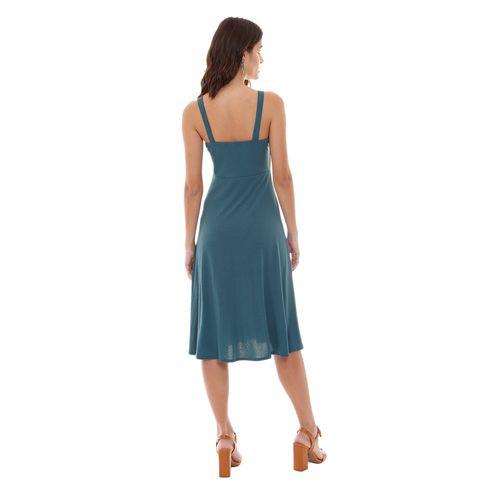 Vestido-Liso-Malha-Verde