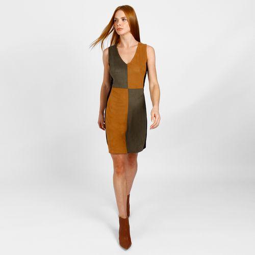 Vestido-Curto-Color-Block-De-Suede---PP