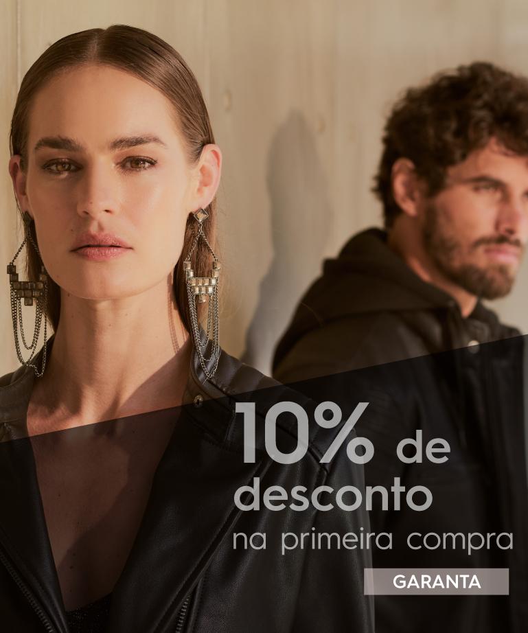 10% OFF Primeira Compra