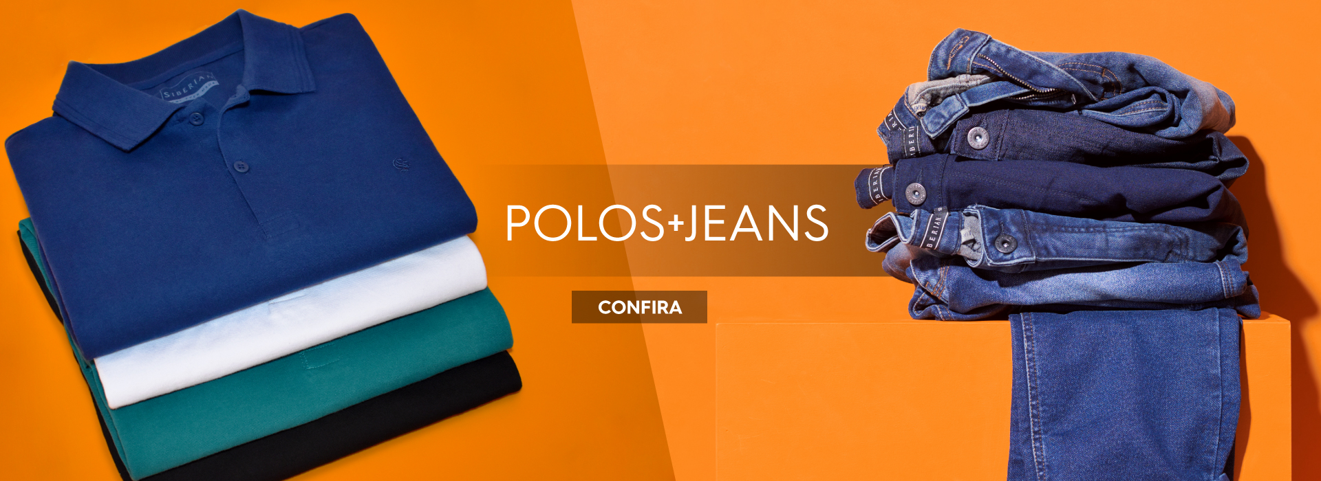 Polos e Jeans